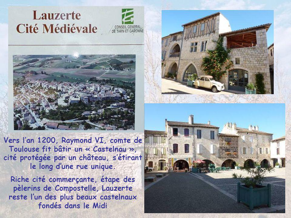 Vers l'an 1200, Raymond VI, comte de Toulouse fit bâtir un « Castelnau », cité protégée par un château, s'étirant le long d'une rue unique.