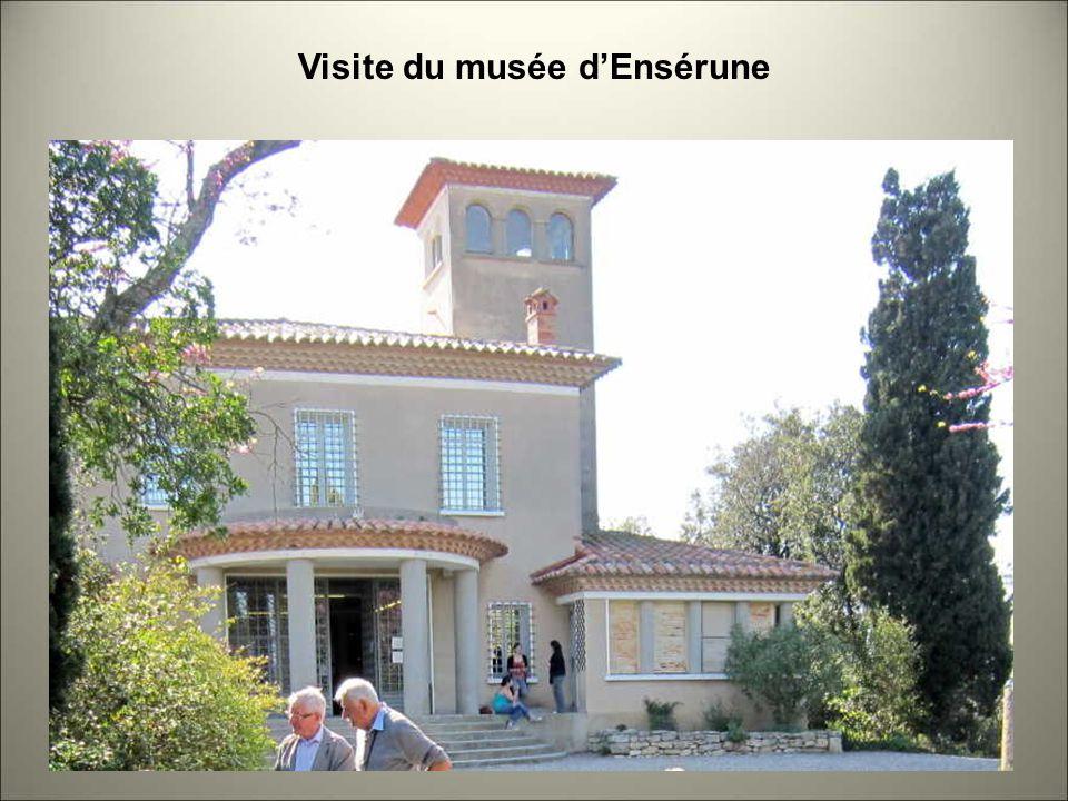 Visite du musée d'Ensérune