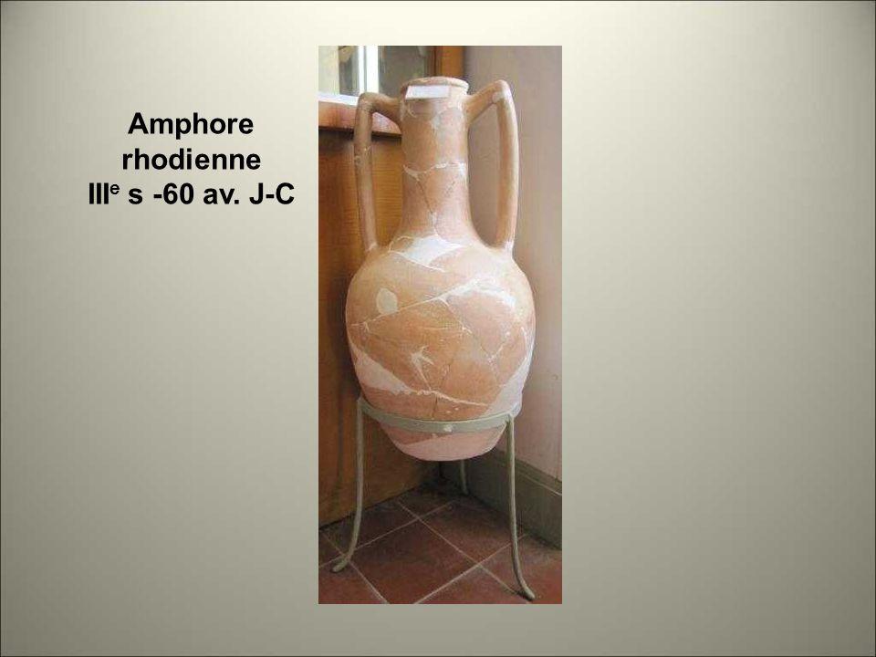 Amphore rhodienne IIIe s -60 av. J-C