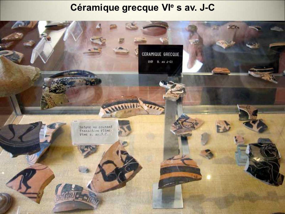 Céramique grecque VIe s av. J-C