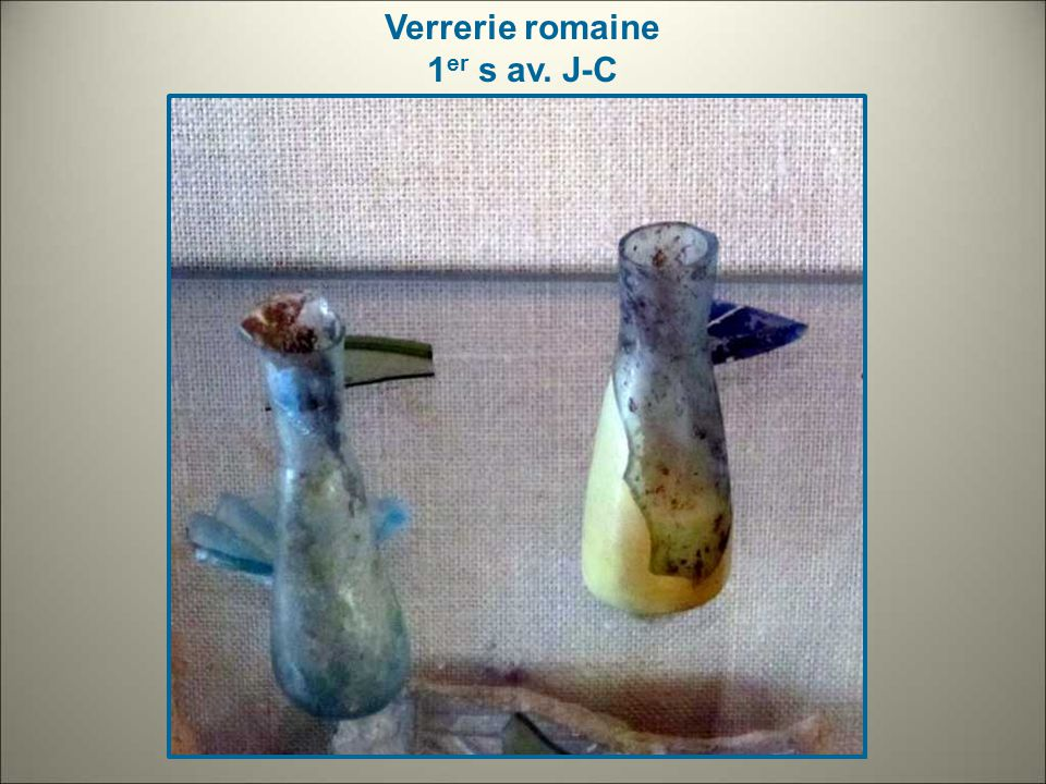 Verrerie romaine 1er s av. J-C