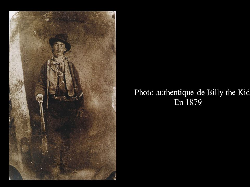 Photo authentique de Billy the Kid