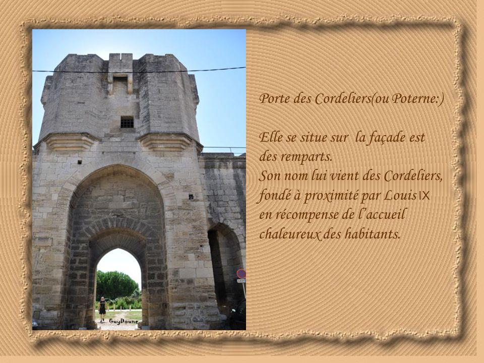 Porte des Cordeliers(ou Poterne:)