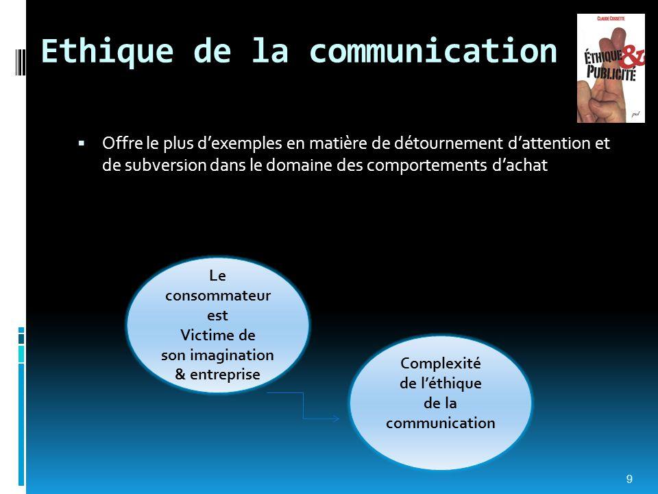 Ethique de la communication