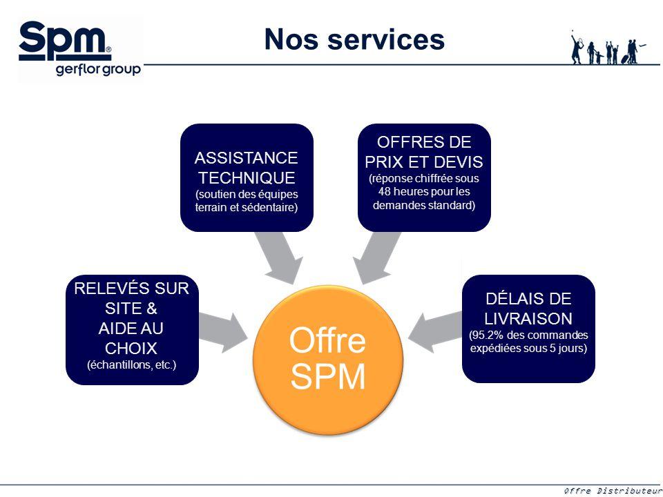 Nos services OFFRES DE PRIX ET DEVIS (réponse chiffrée sous 48 heures pour les demandes standard)