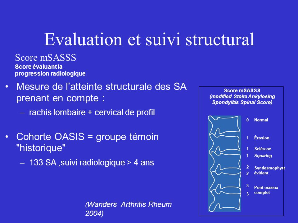 Evaluation et suivi structural