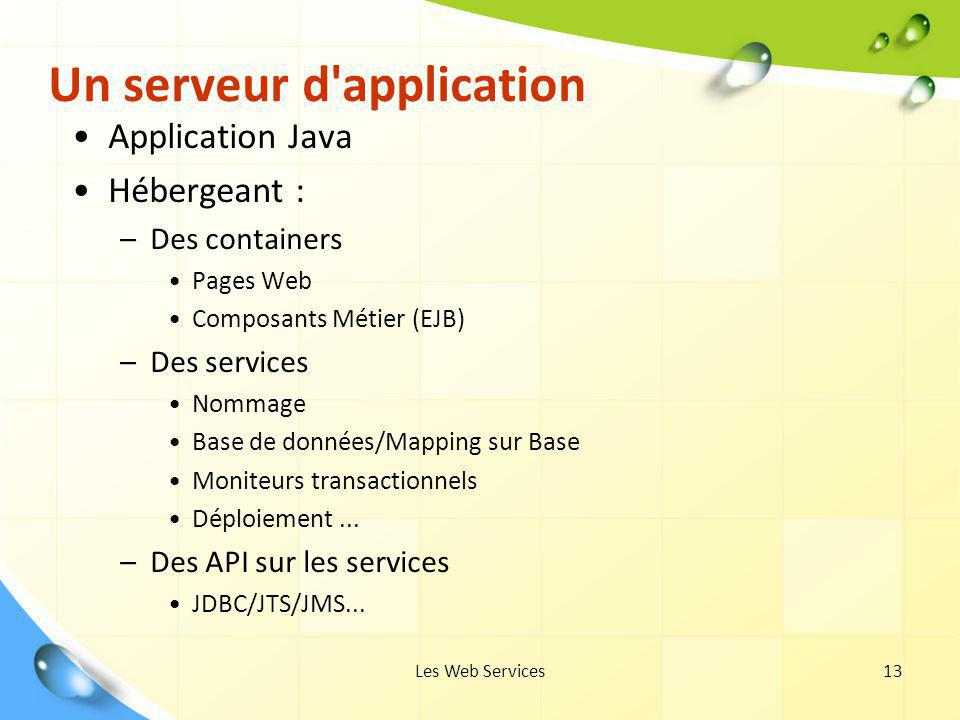 Un serveur d application