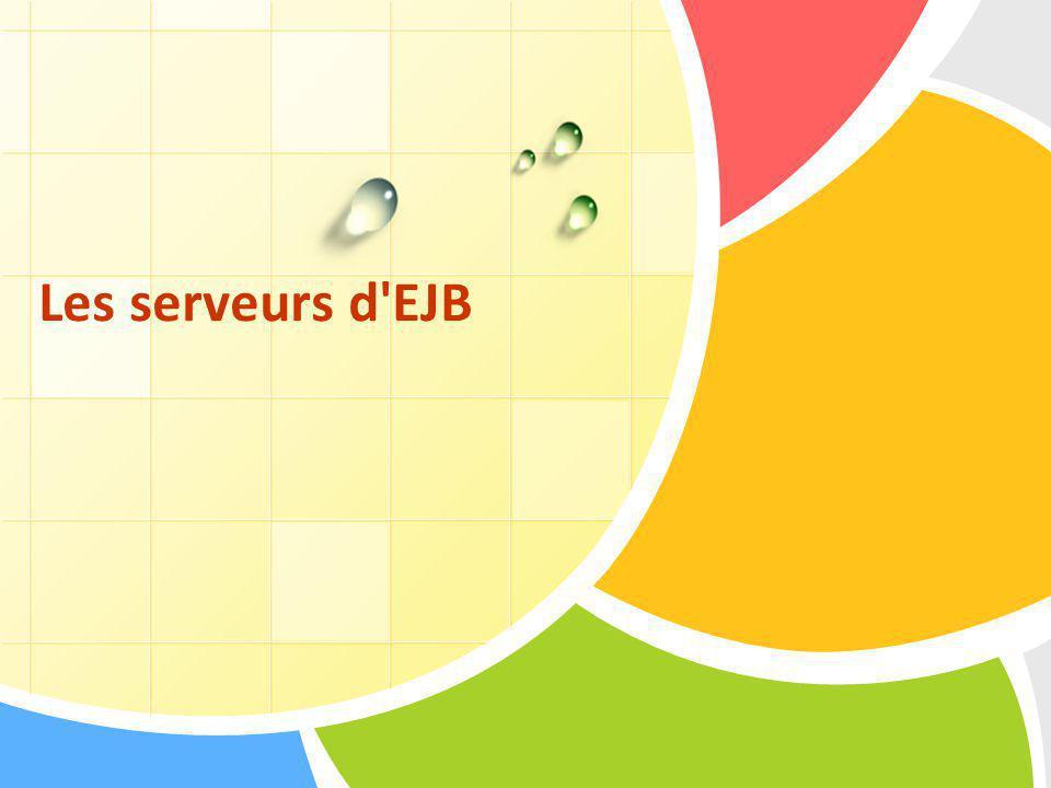 Les serveurs d EJB