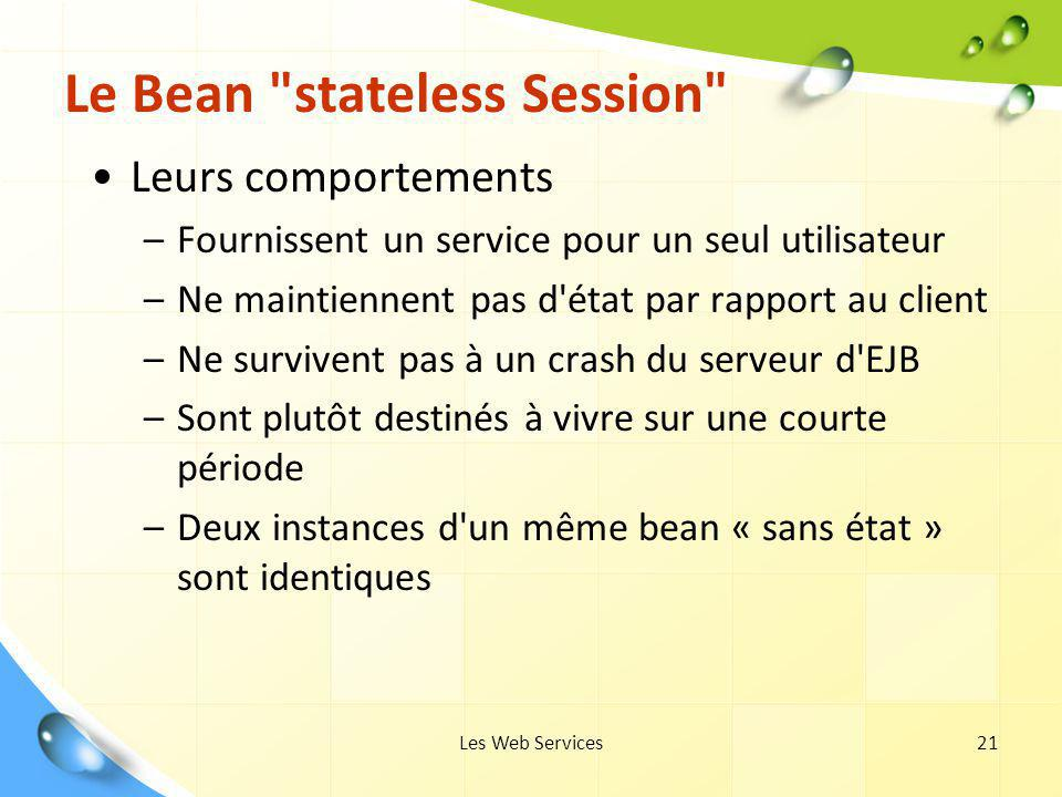 Le Bean stateless Session