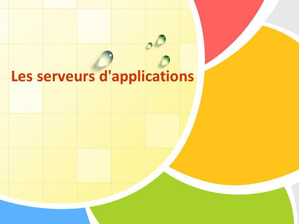 Les serveurs d applications