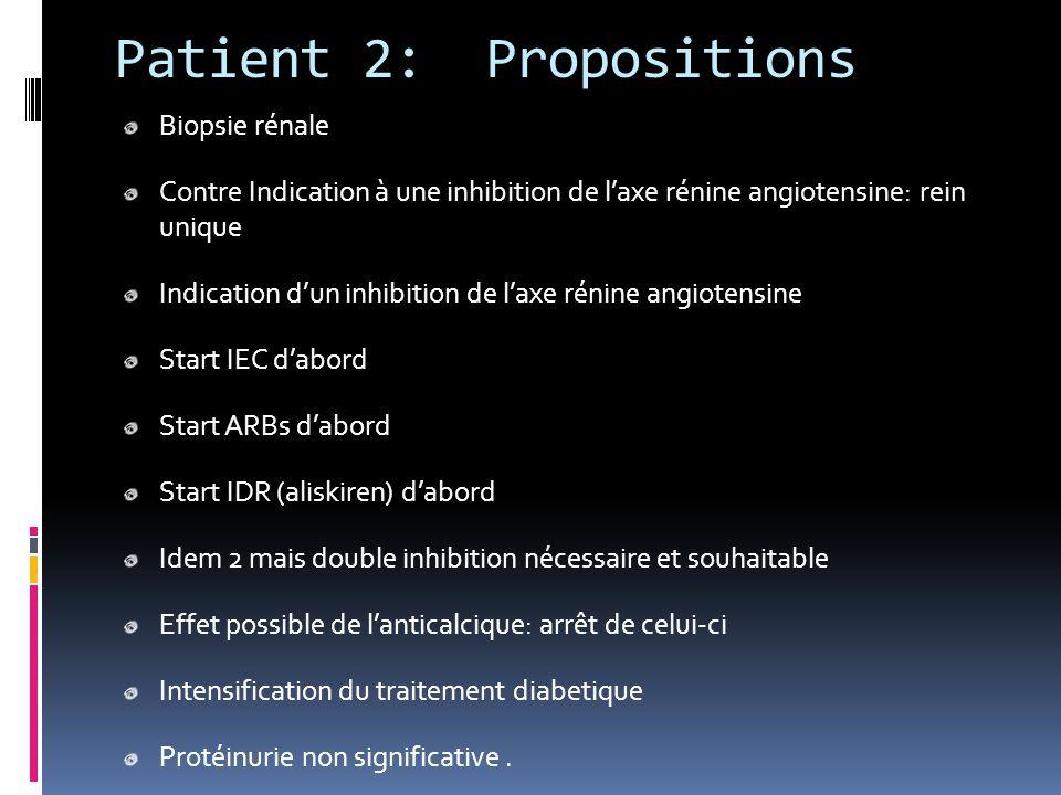 Patient 2: Propositions