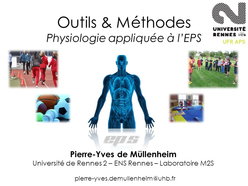 Outils & Méthodes Physiologie appliquée à l'EPS