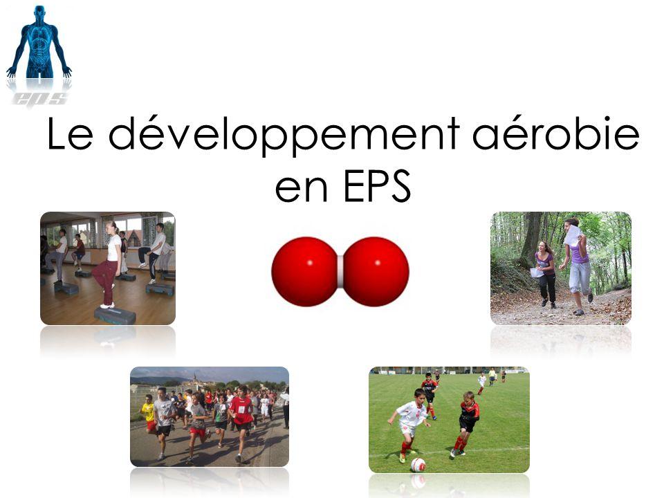 Le développement aérobie en EPS