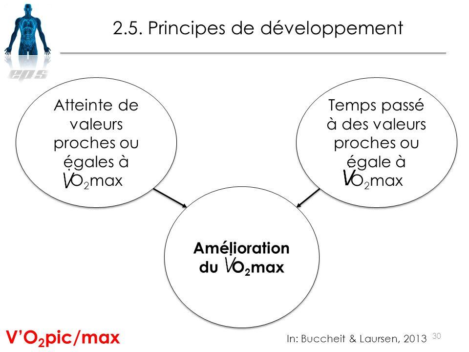 2.5. Principes de développement