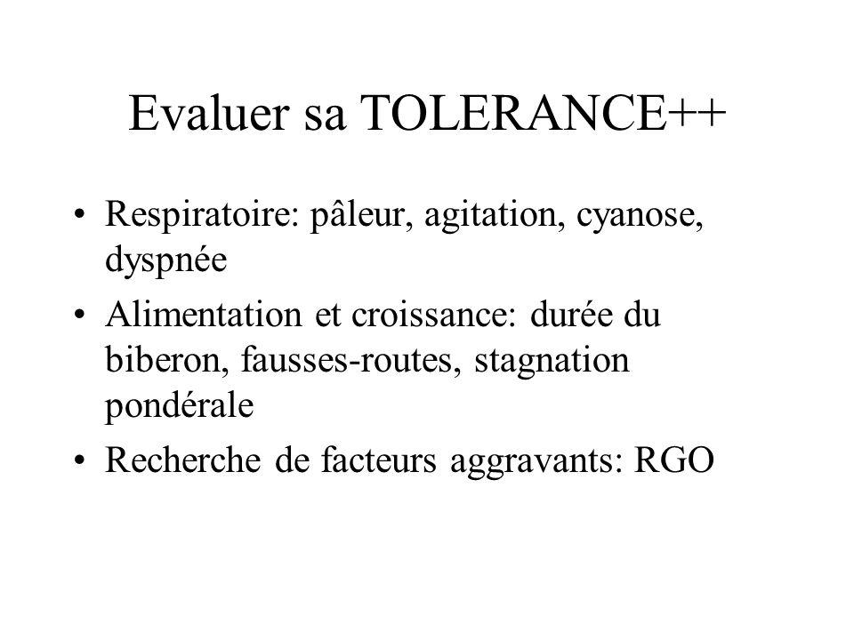 Evaluer sa TOLERANCE++