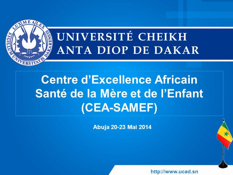 Centre d'Excellence Africain Santé de la Mère et de l'Enfant