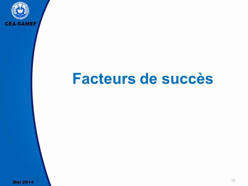 Facteurs de succès