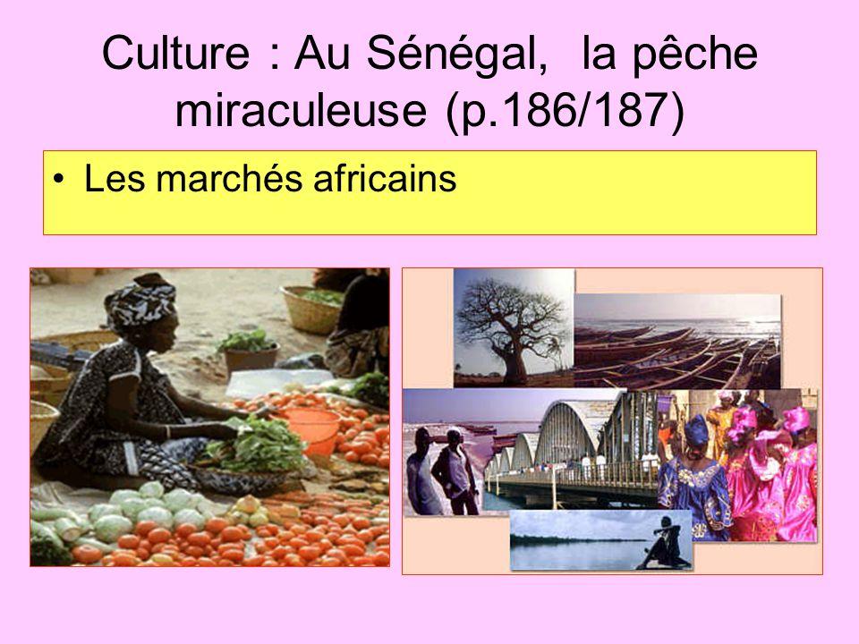 Culture : Au Sénégal, la pêche miraculeuse (p.186/187)