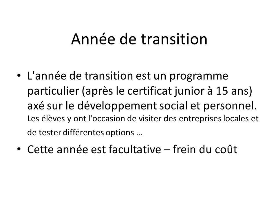Année de transition