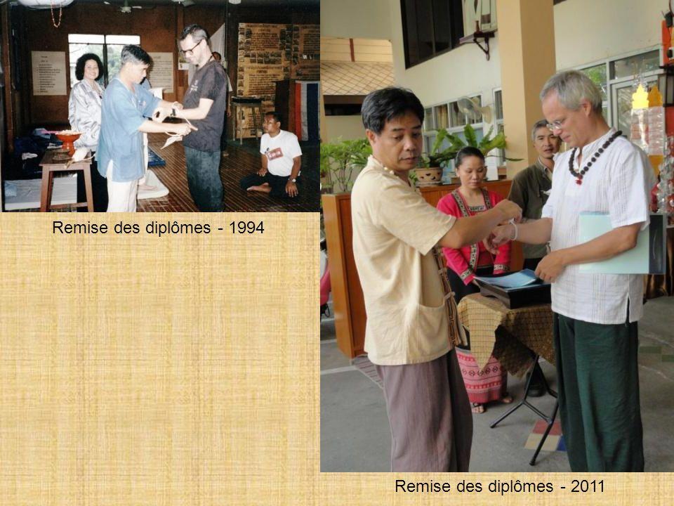 Remise des diplômes - 1994 Remise des diplômes - 2011