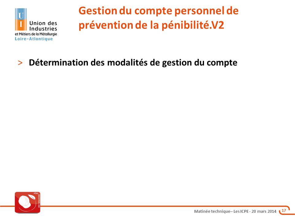 Gestion du compte personnel de prévention de la pénibilité.V2