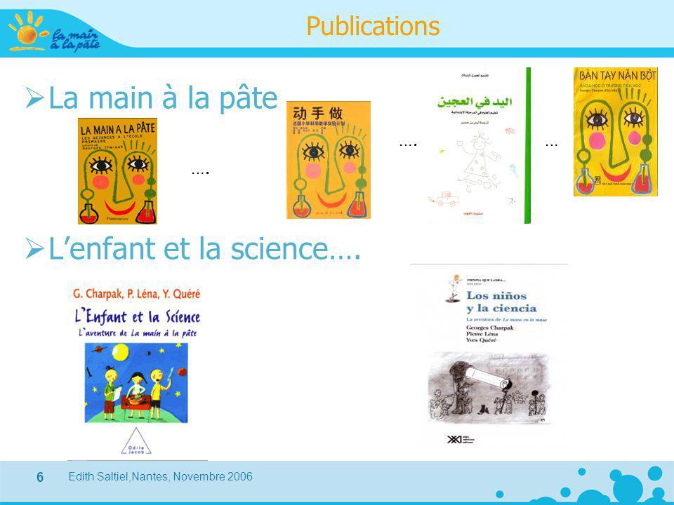 L'enfant et la science….