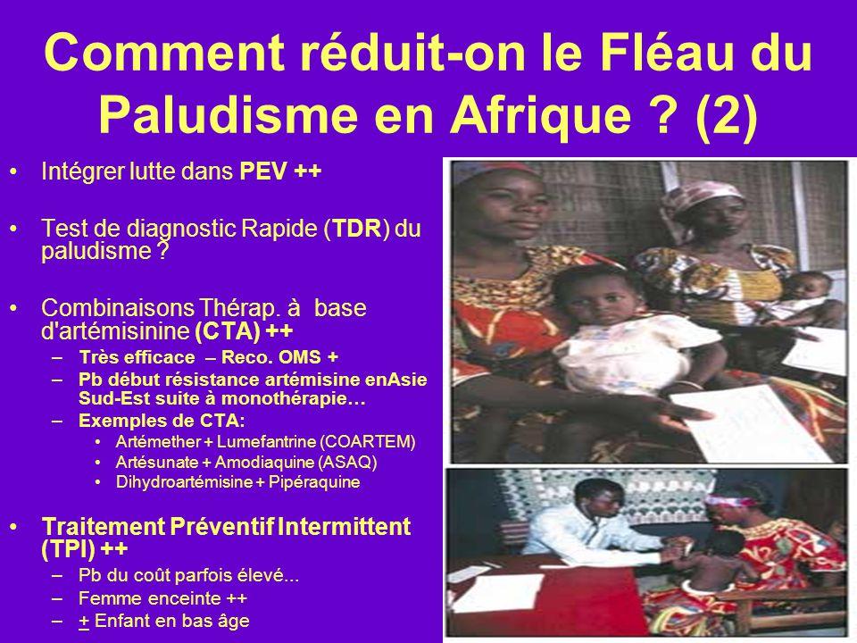 Comment réduit-on le Fléau du Paludisme en Afrique (2)