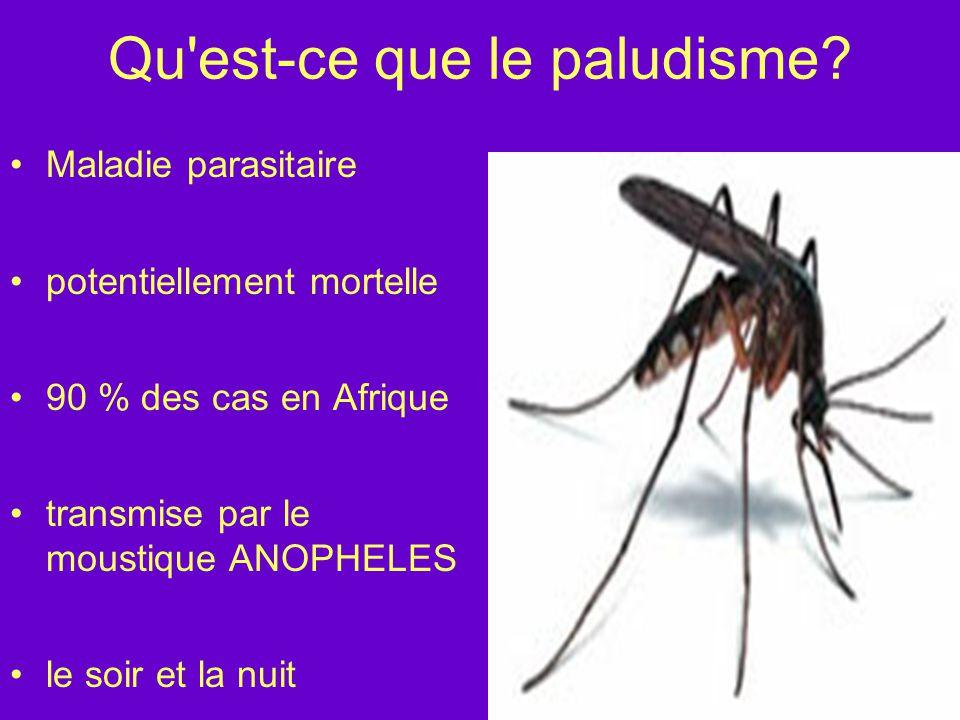 Qu est-ce que le paludisme