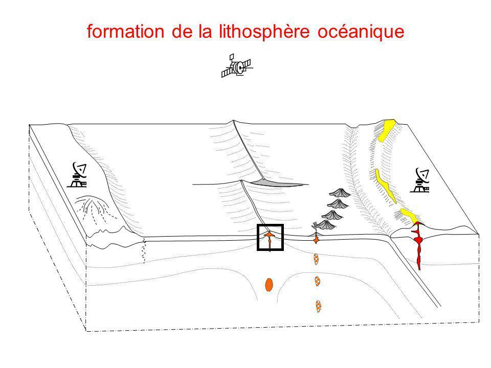 formation de la lithosphère océanique