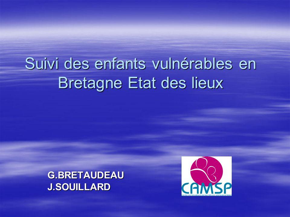 Suivi des enfants vulnérables en Bretagne Etat des lieux
