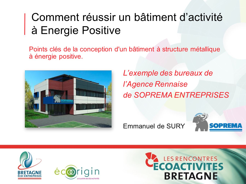 Comment réussir un bâtiment d'activité à Energie Positive