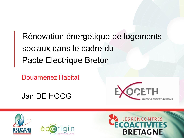 Rénovation énergétique de logements sociaux dans le cadre du Pacte Electrique Breton