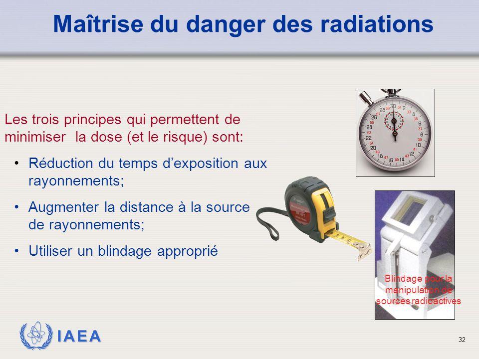 Maîtrise du danger des radiations