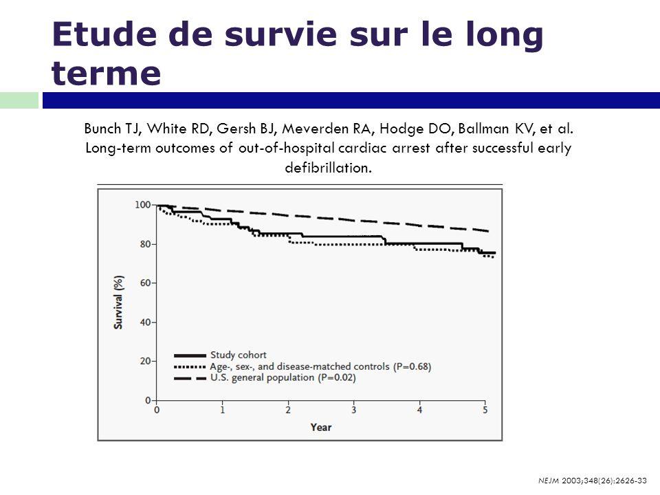 Etude de survie sur le long terme