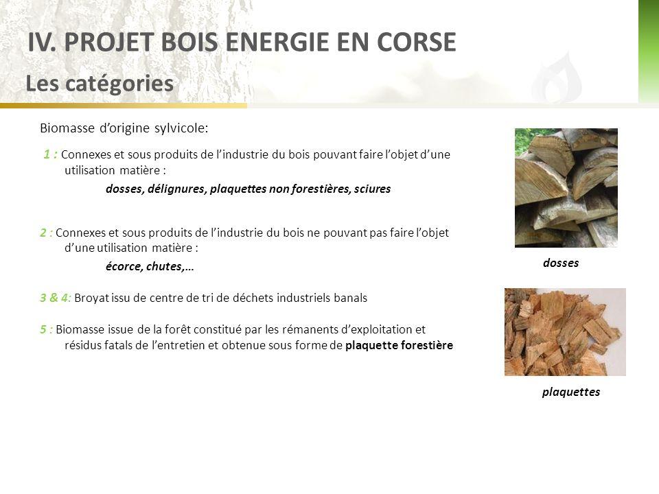 IV. PROJET BOIS ENERGIE EN CORSE