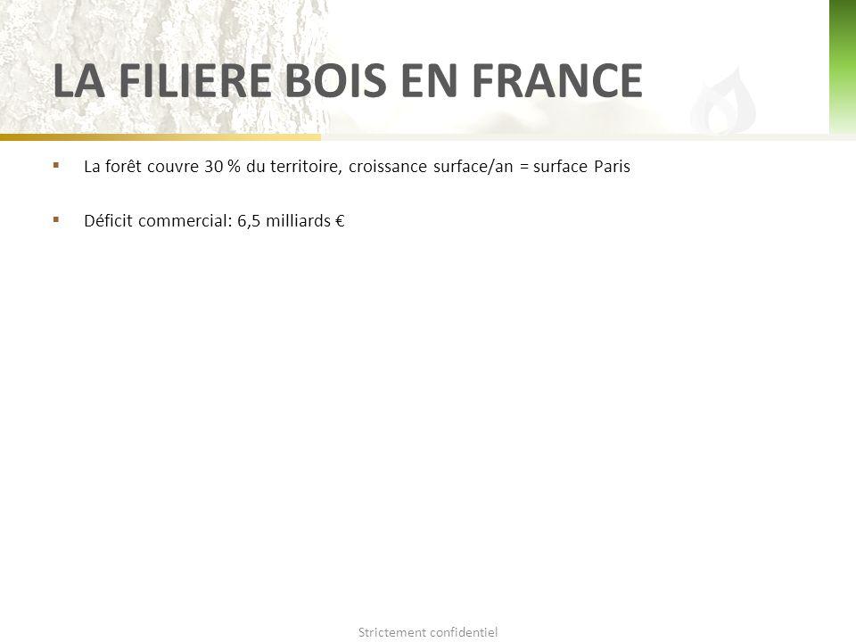 LA FILIERE BOIS EN FRANCE