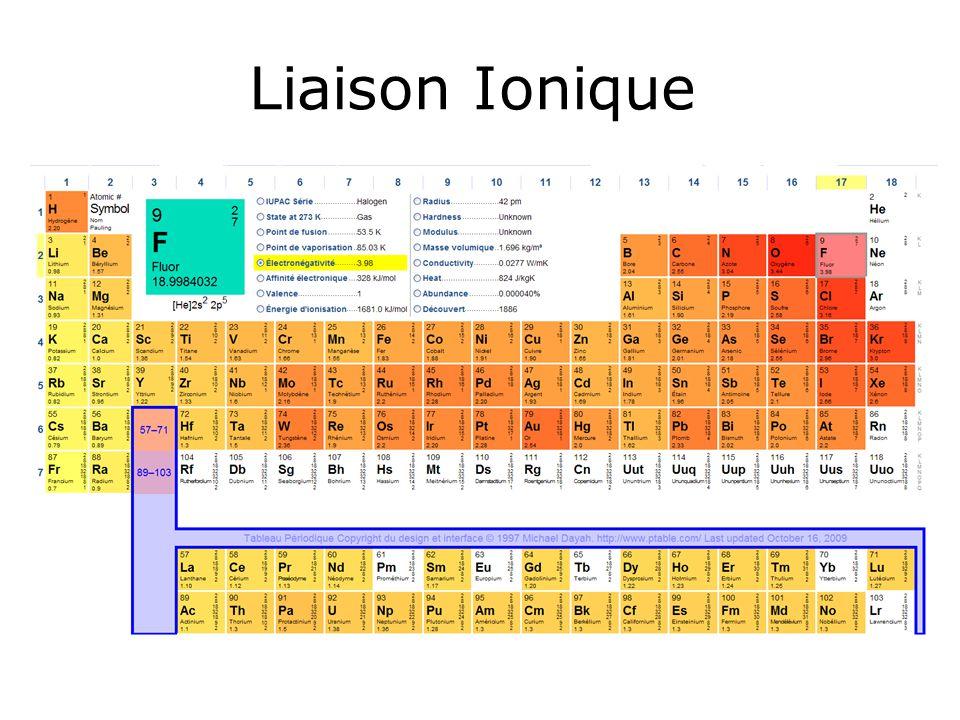 Liaison Ionique