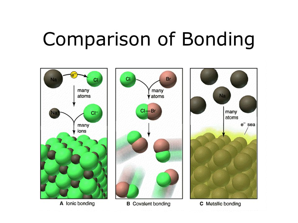 Comparison of Bonding