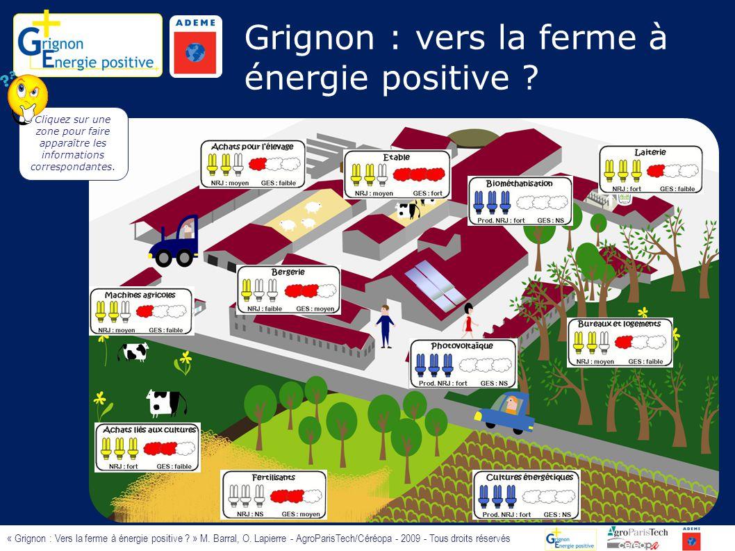 Grignon : vers la ferme à énergie positive