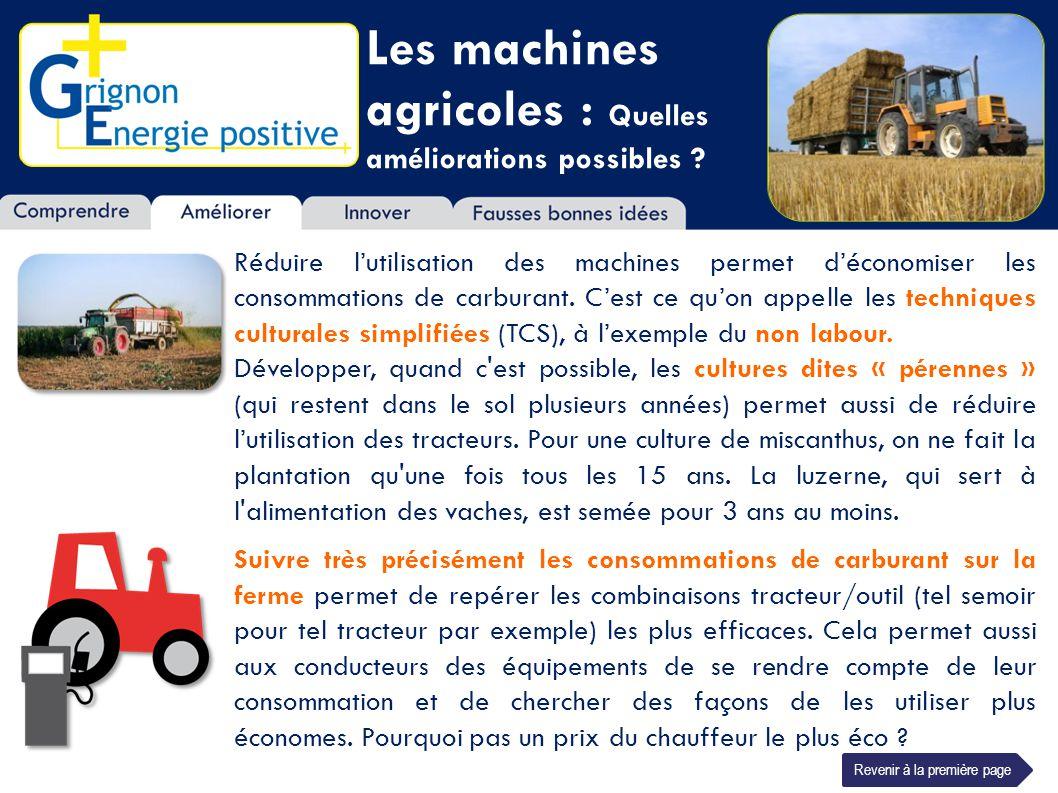 Les machines agricoles : Quelles améliorations possibles