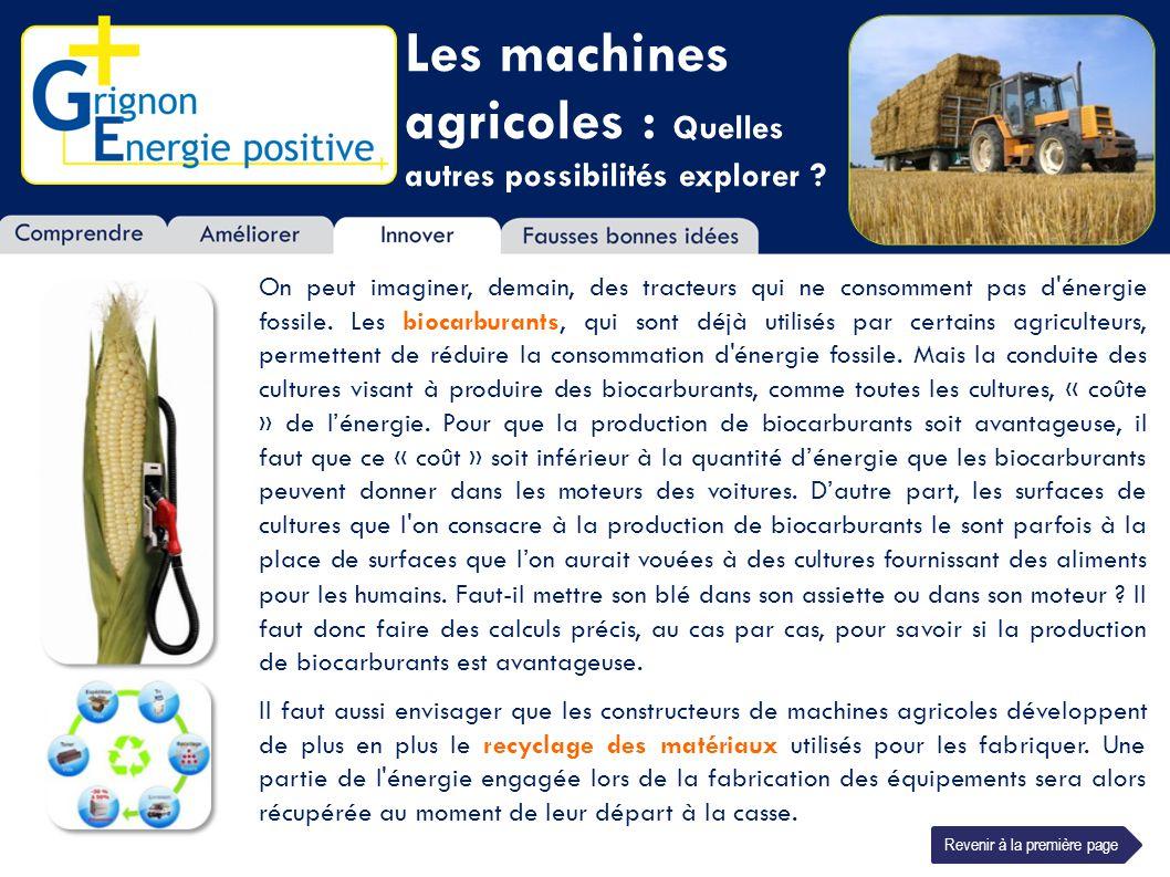 Les machines agricoles : Quelles autres possibilités explorer