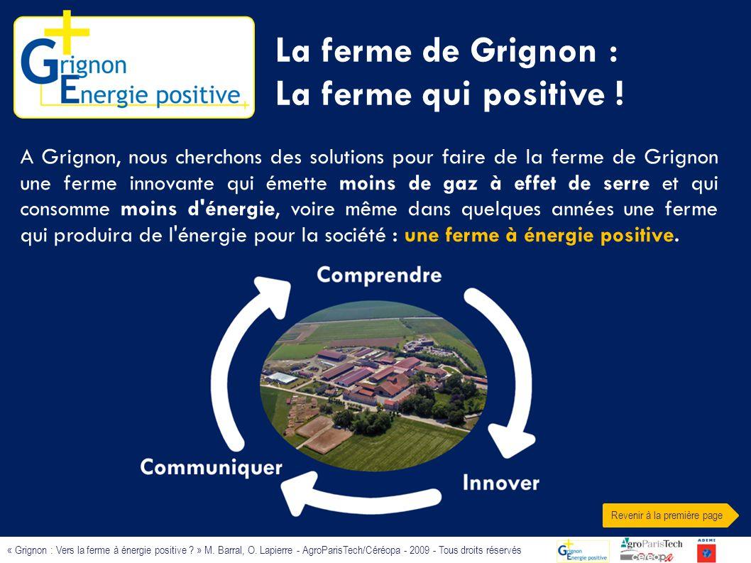La ferme de Grignon : La ferme qui positive !