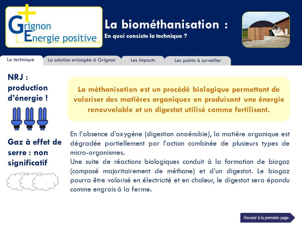 La biométhanisation : En quoi consiste la technique