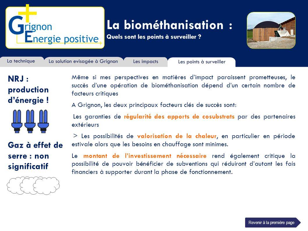 La biométhanisation : Quels sont les points à surveiller