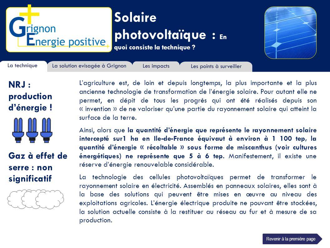 Solaire photovoltaïque : En quoi consiste la technique