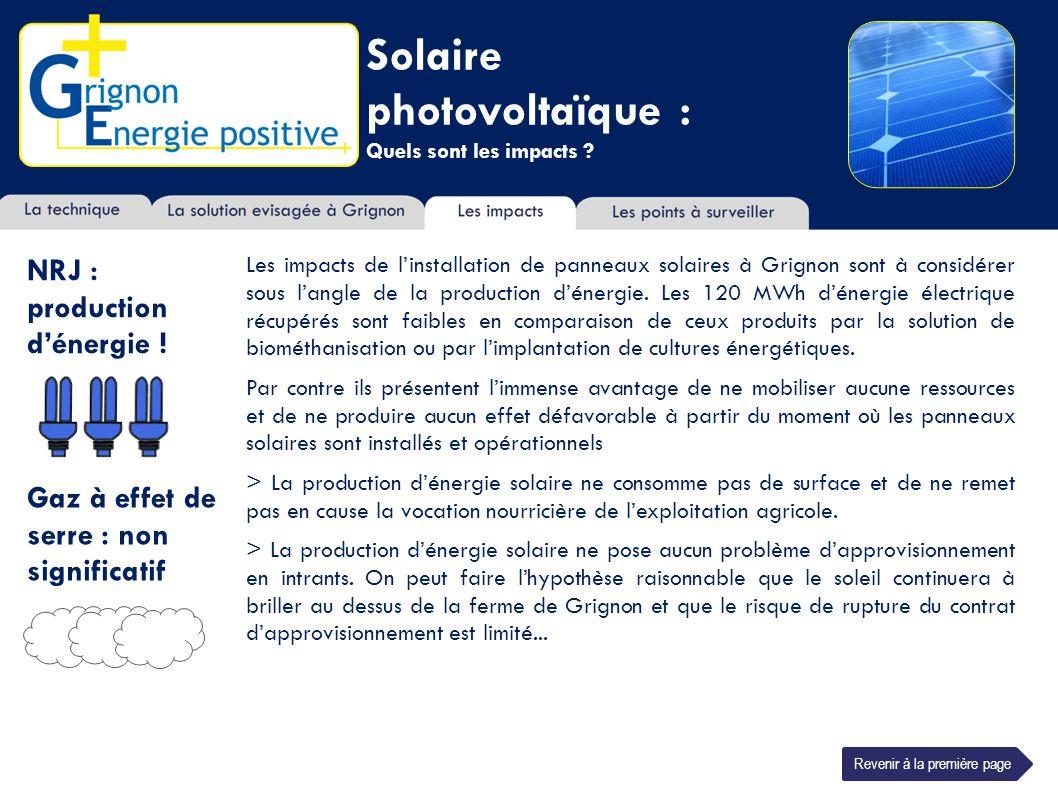 Solaire photovoltaïque : Quels sont les impacts