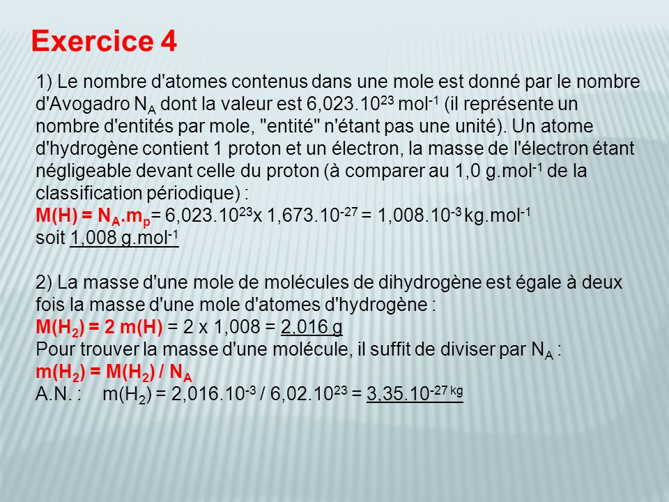 Exercice 4