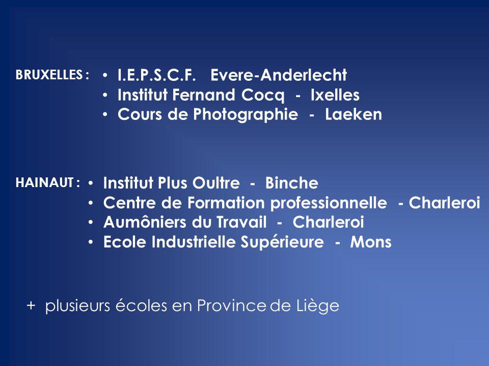 I.E.P.S.C.F. Evere-Anderlecht Institut Fernand Cocq - Ixelles