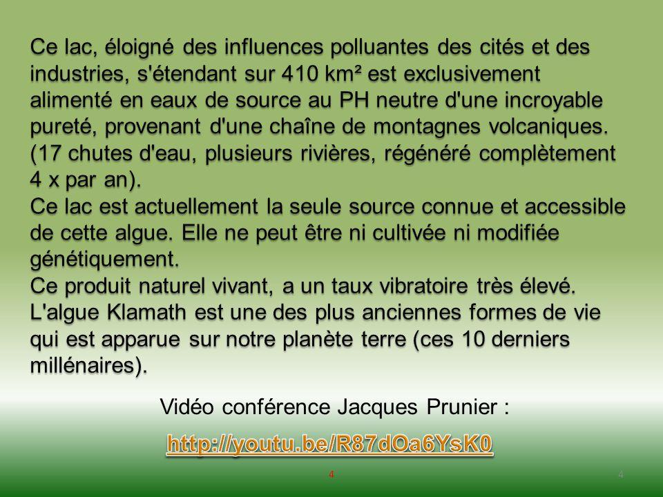 Vidéo conférence Jacques Prunier :