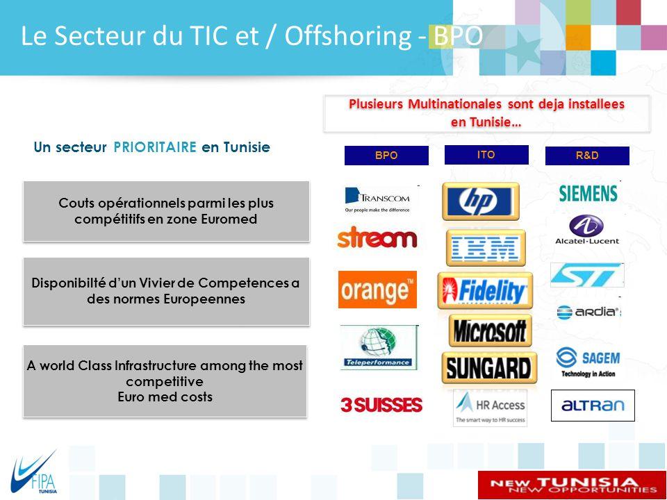 Le Secteur du TIC et / Offshoring - BPO